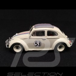 Volkswagen VW Coccinelle Beetle Käfer n° 53 Herbie The Love bug 1/43 Hot Wheels BCK07