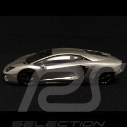 Lamborghini Aventador 2012 gris metal grey metalgrau The Dark Knight 1/43 Hotweels BCK06