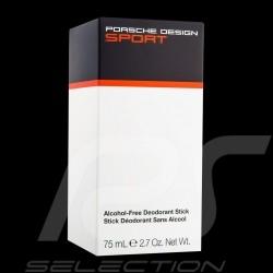 Stick déodorant Porsche Design Sport Deodorant Stick Deodorant Stick 75 mL sans alcool alcohol free Alkoholfreie