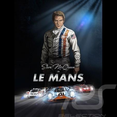 Livre Book Buch Steve McQueen in Le Mans - en anglais english Englisch