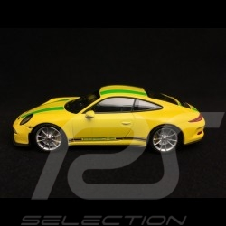 2016-Yellow Minichamps 1:87 Porsche 911 R