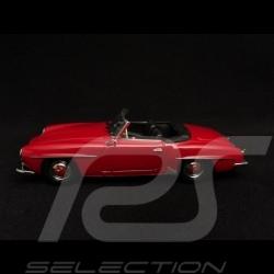 Mercedes Benz 190 SL roadster 1955 fire engine red 1/43 Minichamps 940033131