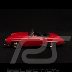 Mercedes Benz 190 SL roadster 1955 rouge pompier fire engine red Feuerwehrauto rot 1/43 Minichamps 940033131