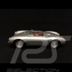 Porsche 550 Spyder 1955 gris argent silver grey silbergrau selten rare 1/43 Minichamps WAP020023