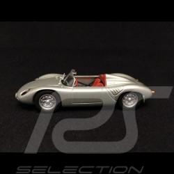 Porsche 718 RS 60 Spyder 1958 silbergrau sehr Selten 1/43 Minichamps WAP020020