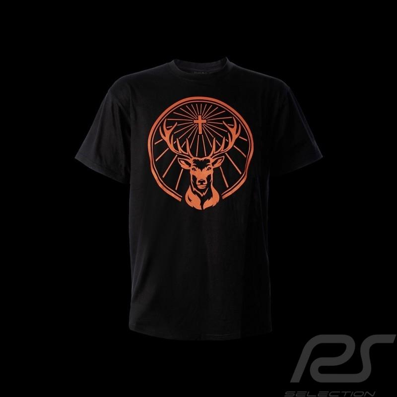 T shirt Jägermeister logo devant classique noir homme