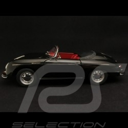 Porsche 356 A Speedster 1955 noir black schwarz 1/18 Schuco 450030800