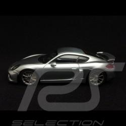 Porsche Cayman GT4 2015 Silber Rhodium metallic 1/43 Minichamps CA04316071