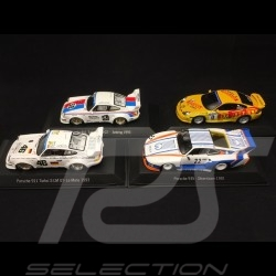 Quatuor Porsche 911 et 935 Walter Röhrl 1/43 Spark MAP02020117 MAP02020317 MAP02020417 MAP02020717