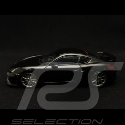 Porsche Cayman GT4 2016 noir métallisé metallic black schwarz 1/43 Minichamps 410066121