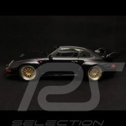 Porsche 911 type 993 Carrera GT bleu foncé metallic dark night blue metallic nachtblau 1/18 GT SPIRIT GT144