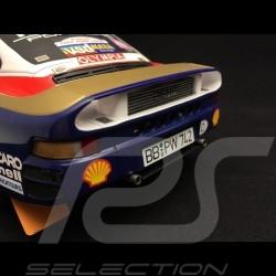 Porsche 959 Sieger Dakar 1986 n° 186 1/18 Truescale TSM121807R