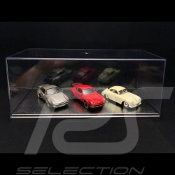 Vitrine Duo 1/43 or 1/24 Silber Basis