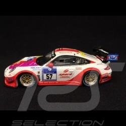 Porsche 911 type 997 GT3 KR Nürburgring 2016 n° 57 Kremer 1/43 Spark MAB031