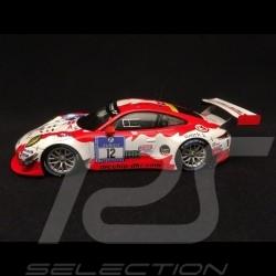 Porsche 911 type 991 GT3 R Nürburgring 2016 n° 12 Manthey racing 1/43 Spark MAB033