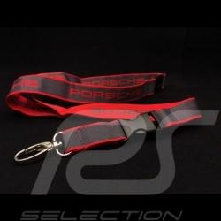 Porsche Schlüsselring Halsband rot und grau Le Mans 2015 Motorsport collection WAP799XXX0F