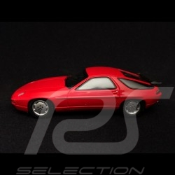 Porsche 928 S4 1986  Bonneville speed record red 1/43 Spark MAP02020916