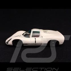 Porsche 910 präsentation 1967 n° 1 weiß 1/43 Ebbro 640