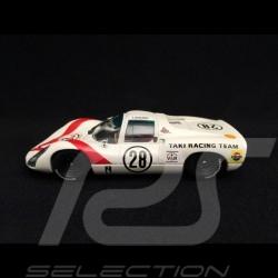 Porsche 910 Grand Prix Japan 1968 n° 28 Taki Racing Team 1/43 Ebbro 638