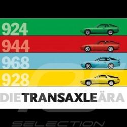 Autocollant Porsche moteur avant front engine Frontmotor Die Transaxle Ara 924 944 968 928 10,5 x 7,5 MAP01000316