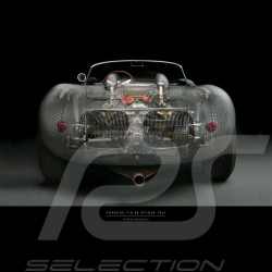 Plakat Porsche 718 Drückplatte auf Plexiglass  40 x 60 cm Peter Harholdt