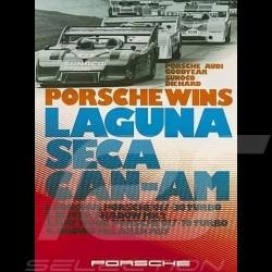 Porsche Poster 917 Can-Am wins Laguna Seca 1973 - 118