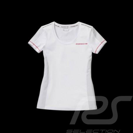 Porsche T-shirt Classic Collection weiß / grau WAP452 - Damen