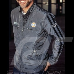 Veste Jacket Jacke Gulf Racing gris grey grau - homme men herren