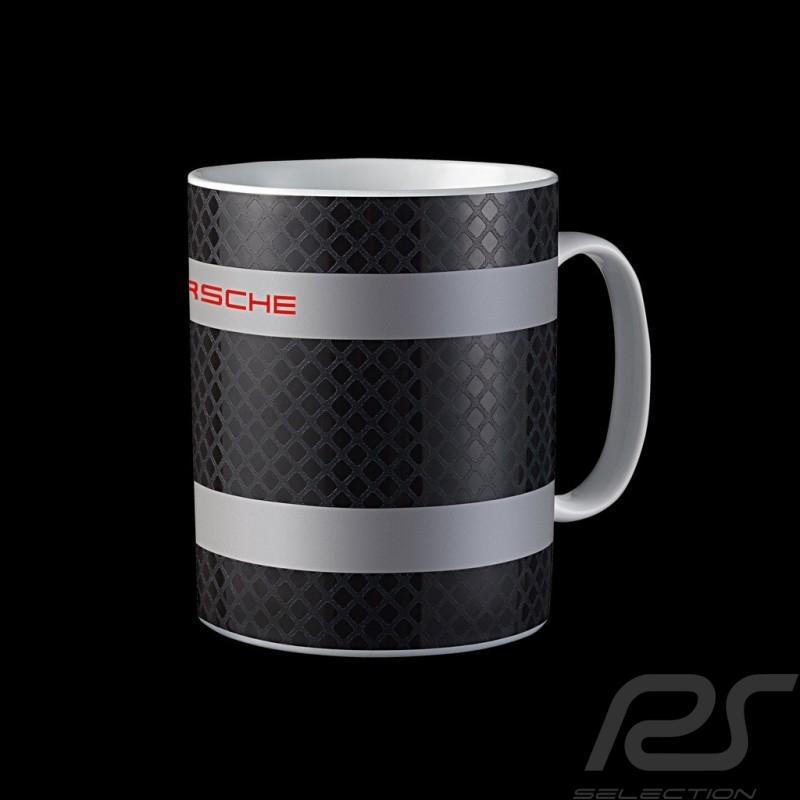 Tasse Cup Mug Becher Porsche Racing Collection noir gris rouge WAP0504580H