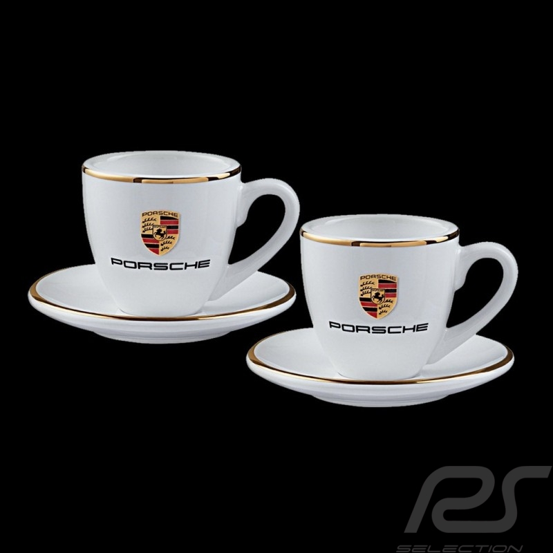 Set of 2 expresso cups Porsche Gold Porsche Design WAP0505950H