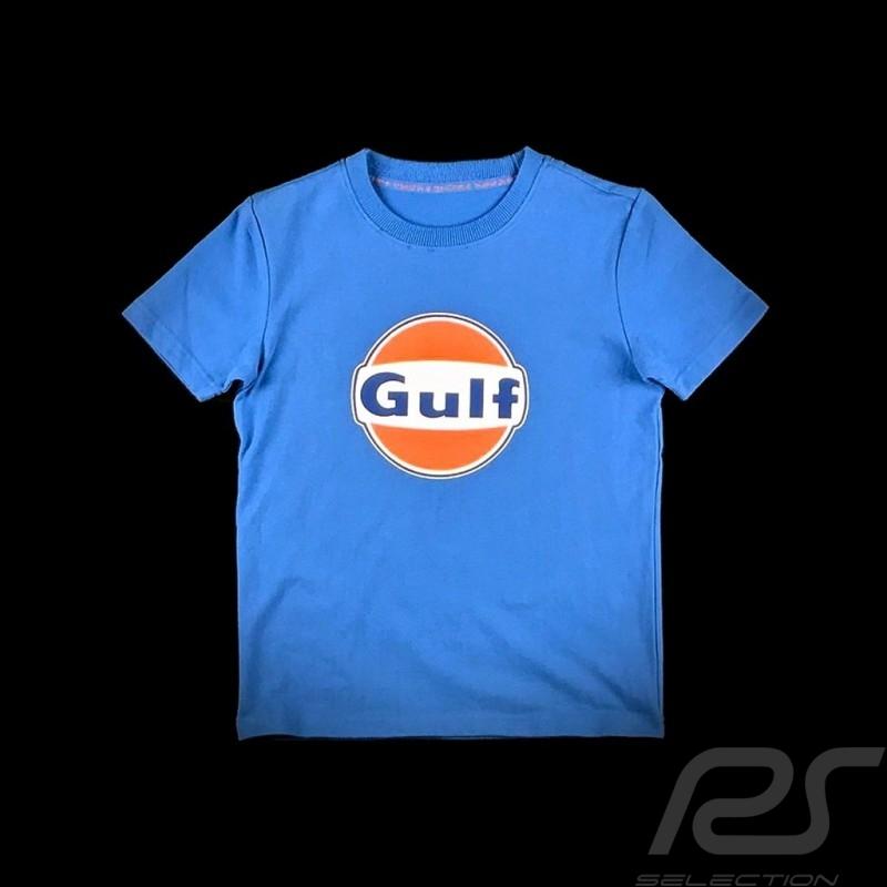T-Shirt Gulf bleu cobalt blue cobaltblau - enfant kid Kinder