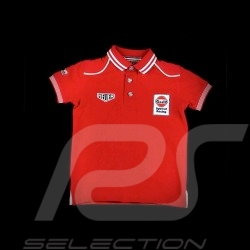 Polo-shirt Gulf Spirit of Racing rot - Kinder