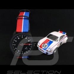 Montre Watch Uhr Porsche 911 compte-tours mono-aiguille Tachometer single-needle Single-Nadel tricolore Brumos
