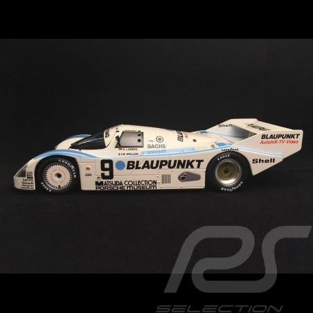 Porsche 962 C 1000 km Nürburgring 1987 n° 9 Joest Racing Blaupunkt 1/18 Norev 187407