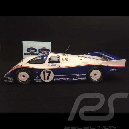 Porsche 962 IMSA vainqueur Daytona 1986 n° 14 Holbert Racing Löwenbrau 1/18 Norev 187408 winner sieger