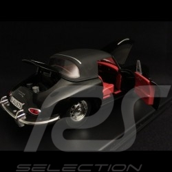 Porsche 356 Cabriolet 1.6 Super 90 1962 noire black schwarz 1/24 Atlas 124053
