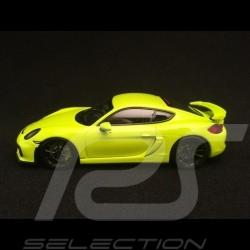 Porsche Cayman GT4 2016 vert acide acid green acidgrün 1/43 Minichamps 410066122