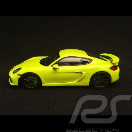 Porsche Cayman GT4 2016 acid green 1/43 Minichamps 410066122