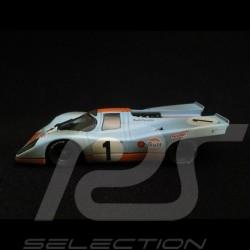 Porsche 917 K Daytona 1970 n°1 Gulf Siffert finish line 1/43 Minichamps 430706791
