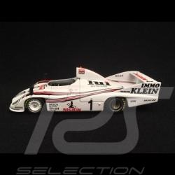 Porsche 908 80 vainqueur winner sieger 1000 km Nürburgring 1981 n° 1 Lui 1/43 Minichamps 430816701