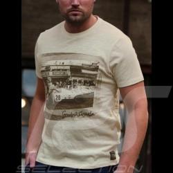 T-shirt Porsche 917 n° 20 Le Mans Crème Cream Creme - homme men Herren