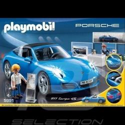 Porsche 911 Targa 4S bleue blue blau Playmobil 5991
