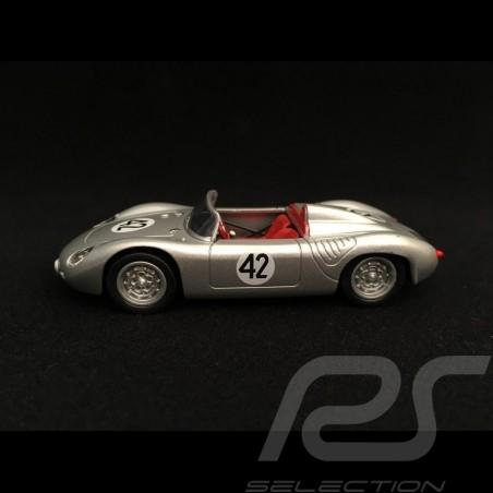 Porsche 718 RS 60 Spyder Vainqueur Winner Sieger 12h Sebring 1960 n° 42 Herrmann 1/43 Welly MAP01971817