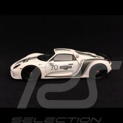 Porsche 918 Spyder Martini n° 70 Walter Röhrl 1/43 Spark MAP02020917