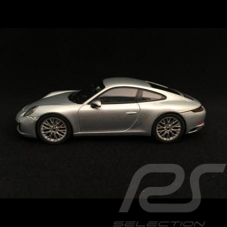 Porsche 911 type 991 Carrera 4S coupé ph II 2017 rhodium grey 1/43 Herpa 071055