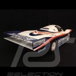 Porsche 956 vainqueur winner sieger Le Mans 1982 n° 1 Rothmans 1/12 Truescale TSM151206