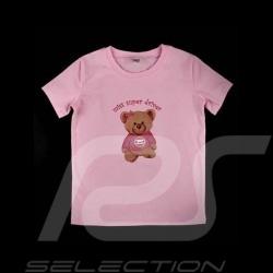 T-Shirt Gulf Teddybär rosa - Kinder