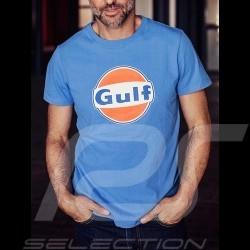 T-Shirt Gulf bleu cobalt blue colbaltblau homme men Herren