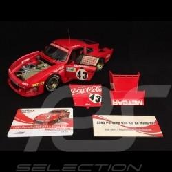 Porsche 935 K3 Le Mans 1981 n° 43 Coca-Cola 1/18 Truescale TSM10181