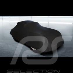 Housse de protection intérieur indoor car cover Fahrzeugabdeckung Porsche 356 noir black schwarz